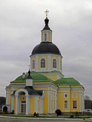 Спасская церковь Спаса Нерукотворного пустынь монастырь Клыково