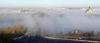 Туман Нижнем Новгороде