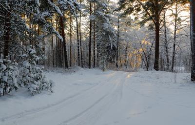 Была зима.....