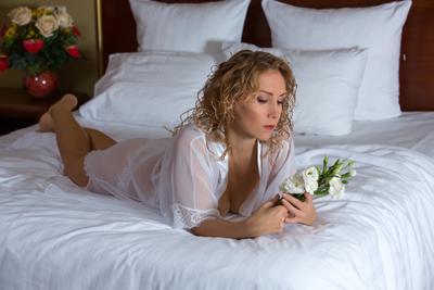 ожидание женщина плутовка секси цветы