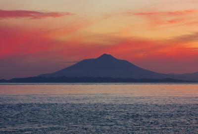 Вулкан Тятя. итуруп тятя вулканы кунашир