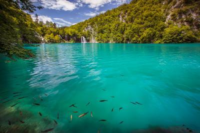 ***Озерный рай Плитвицкие озера Хорватия Plitvička jezera