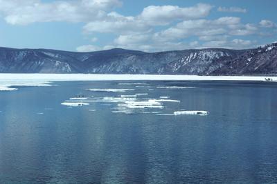 Весенний лёд байкал озеро лёд листвянка