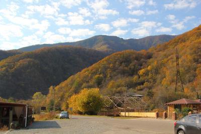 Горы Абхазии поздней осенью Горы Абхазия