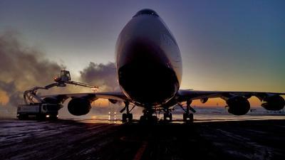 Предполетная Boeing