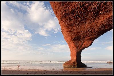 Арки Легзиры (6) Марокко, Легзира, пляж, Атлантика, Арки