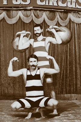Цирк остался...
