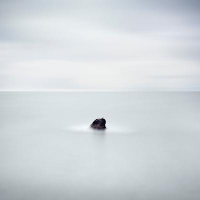 It's a cold cold world rock seagull longexposure crimea waterscape ukraine cold world