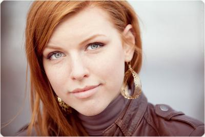 Nadya. freckles, ginger, red