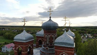 Храм Покрова Пресвятой Богородицы в с. Марьинское храм церковь православный
