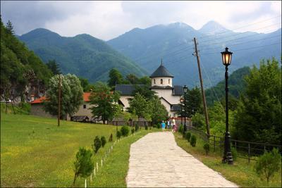 *** черногория, милочер, храм