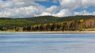 Голубое озеро... Сахалин озеро-лагуна Изменчивое