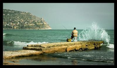 Водные процедуры рыбак, рыбалка