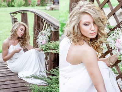 Вера девушка портрет свадебное