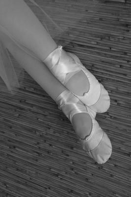 этюд балет ножки балерина