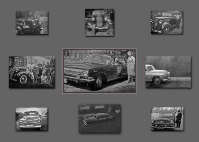 Папа на «ВОЛГЕ» приехал… ретро Советские автомобили техно остальное
