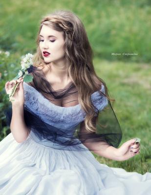 Белая Королева девушка арт королева белый сказка