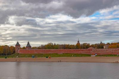 Новгород, Кремль Новгород Кремль Волхов крепость