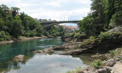 Неретва Bosna i Hercegovina Mostar Stari most Босния и Герцеговина Мо стар Старый мост река Не ретва