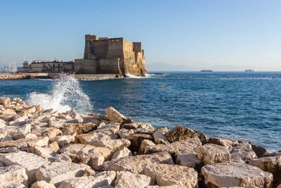 *** Италия Неаполь море корабли