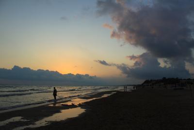 *** море вечер берег