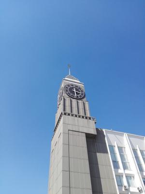 Красноярск .Часы на башне