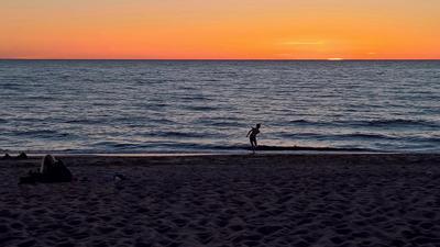 Один вечер на Рижском заливе