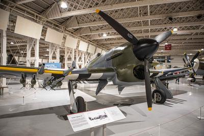 В музее авиации Британии Музей ВВС Британии