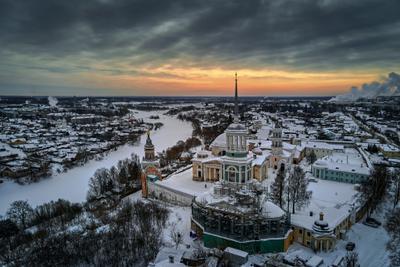 *** Торжок Борисоглебский мужской монастырь