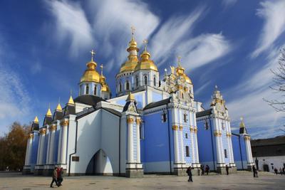 Михайловский Златоверхий... Киев храм