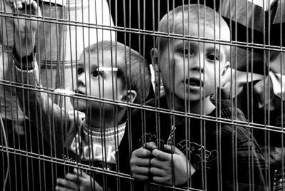Потерянное поколение дети чёрно-белое репортаж