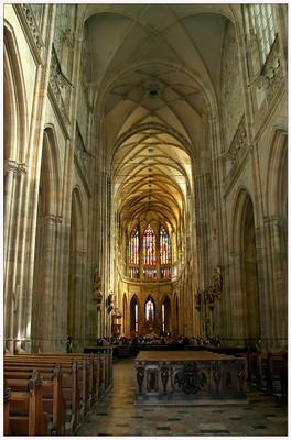 собор св. Витта собор св. Витта, Прага, готика