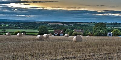 Вилтширские ландшафты. HDR, пейзаж, Англия