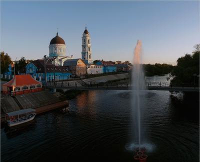 Богородск. Закат Богородск Ногинск Богоявленский собор закат июнь