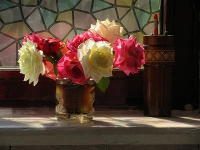 Осенние розы к Новому Году