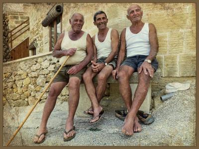 *Портрет южных мужчин почтенного возраста* Фото.Сайт путешествие портрет