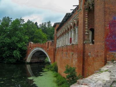 Мост через р. Учу усадьба Марфино Мытищинский район