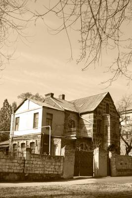 Старина дом архитектура старинный мариуполь где жил архитектор