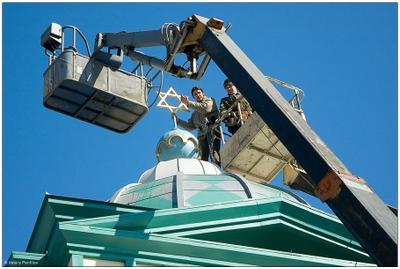 Звезда Давида Иркутск синагога звезда Давида