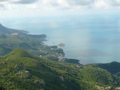 Остров Святый Стефан Черногория Будва Святый Стефан
