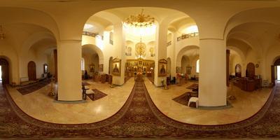Горненский женский монастырь Круговая панорама