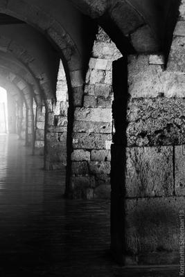 *** испания тарагона архитектура галерея черно-белое