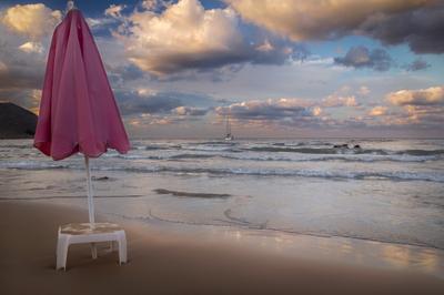 Мечты об алых парусах греция крит георгиоуполис пляж