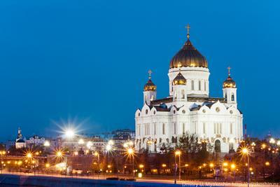 Храм Христа Спасителя Ночь, Храм Христа Спасителя