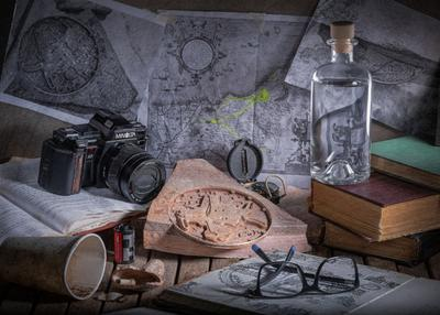 Утро археолога Натюрморт жанр археология книги