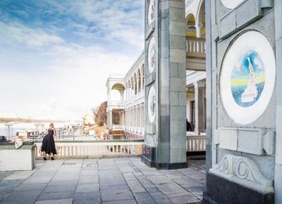 Весна Москва Северный речной вокзал
