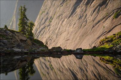 Зеркала Ергаки Западные Саяны озеро Черное