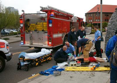 Работа службы 911 Служба 911 США