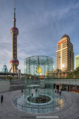 Шанхайские картинки #11 небоскреб Шанхай Китай Shanghai China vakomin