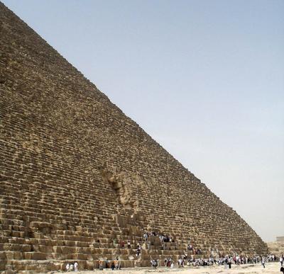 Муравьишки Пирамида, Каир, Египет